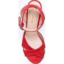Solo Femme - Sandały. Czarne sandały damskie marki Mohito, na obcasie. W wyprzedaży za 219,90 zł.