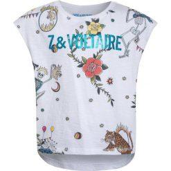 T-shirty chłopięce: Zadig & Voltaire KURZARM Tshirt z nadrukiem weiß