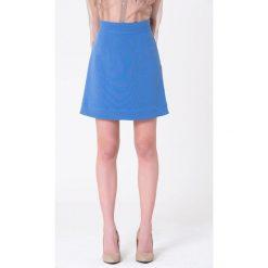 Minispódniczki: Spódnica w kolorze niebieskim