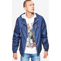 Kurtka typu wiatrówka - Granatowy. Niebieskie kurtki męskie marki Cropp, l. W wyprzedaży za 69,99 zł.