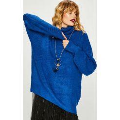Medicine - Sweter Basic. Niebieskie golfy damskie MEDICINE, l, z dzianiny. Za 159,90 zł.