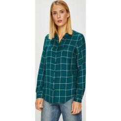 Review - Koszula. Szare koszule damskie Review, l, w kratkę, z tkaniny, casualowe, z klasycznym kołnierzykiem, z długim rękawem. Za 129,90 zł.