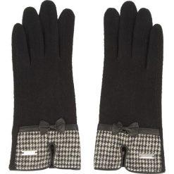 Rękawiczki Damskie WITTCHEN - 47-6-103-1-U Czarny. Czarne rękawiczki damskie Wittchen, z materiału. Za 89,00 zł.