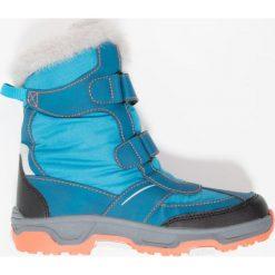 Jack Wolfskin SNOW FLAKE TEXAPORE Śniegowce icy lake blue. Niebieskie buty zimowe damskie marki Jack Wolfskin, z materiału. W wyprzedaży za 213,85 zł.