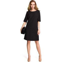 ISABELLE Sukienka z lampasem z koronki - czarna. Czarne sukienki hiszpanki Stylove, na co dzień, s, w koronkowe wzory, z koronki. Za 159,90 zł.