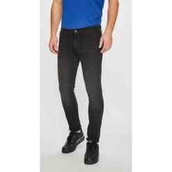 Wrangler - Jeansy Bryson. Czarne jeansy męskie skinny Wrangler, z bawełny. Za 329,90 zł.