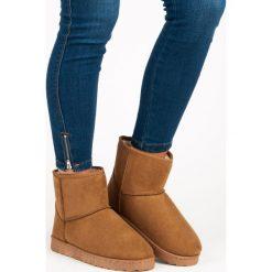 NISKIE ŚNIEGOWCE VINCEZA. Szare buty zimowe damskie marki Vinceza, na niskim obcasie. Za 76,90 zł.