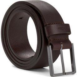 Pasek Męski CALVIN KLEIN - Essential Belt 3.5 K50K503421 90 201. Brązowe paski męskie marki Calvin Klein, w paski, ze skóry. W wyprzedaży za 179,00 zł.