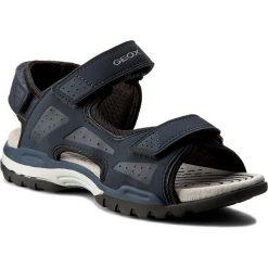 Sandały GEOX - J Borealis B. B J720RB 000BC C4002 D Morski. Szare sandały męskie skórzane marki Blukids. Za 309,00 zł.