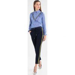 Bluzki asymetryczne: comma LANGARM Bluzka bleu