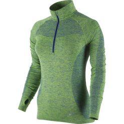 Bluzy damskie: bluza do biegania damska NIKE DRI-FIT KNIT 1/2 ZIP / 719469-455 – bluza do biegania damska NIKE DRI-FIT KNIT 1/2 ZIP