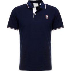 GANT TECH PREP RUGGER Koszulka polo evening blue. Niebieskie koszulki polo marki GANT. Za 509,00 zł.