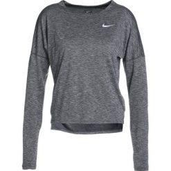 Nike Performance DRY MEDALIST LONGSLEEVE Koszulka sportowa black/gunsmoke/reflective silver. Czarne t-shirty damskie Nike Performance, xs, z materiału, z długim rękawem. Za 299,00 zł.