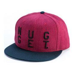 Nugget Czapka Męska Dylan Burgundowa. Czerwone czapki zimowe męskie Nugget, z bawełny. W wyprzedaży za 69,00 zł.