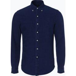 Polo Ralph Lauren - Koszula męska – Slim Fit, niebieski. Niebieskie koszule męskie slim Polo Ralph Lauren, m, polo. Za 349,95 zł.