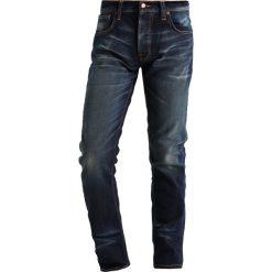 Nudie Jeans GRIM TIM Jeansy Slim Fit dark glory. Czarne jeansy męskie relaxed fit marki Criminal Damage. W wyprzedaży za 376,35 zł.