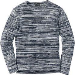 Swetry męskie: Sweter melanżowy Regular Fit bonprix ciemnoniebiesko-biel wełny melanż