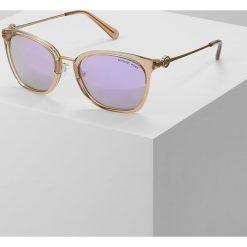 Okulary przeciwsłoneczne damskie: Michael Kors LUGANO Okulary przeciwsłoneczne light brown crystal