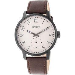 """Zegarki męskie: Zegarek kwarcowy """"the 3400"""" w kolorze brązowo-antracytowo-białym"""