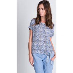 Bluzki damskie: Bluzka z orientalnym wzorem QUIOSQUE
