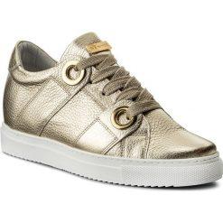 Sneakersy EVA MINGE - Oleiros 3K 18BD1372375ES 111. Żółte sneakersy damskie Eva Minge, z materiału. W wyprzedaży za 249,00 zł.