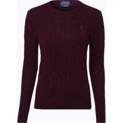 Polo Ralph Lauren - Sweter damski z mieszanki wełny merino i kaszmiru, czerwony. Czerwone swetry klasyczne damskie Polo Ralph Lauren, xl, z kaszmiru, z klasycznym kołnierzykiem. Za 399,95 zł.