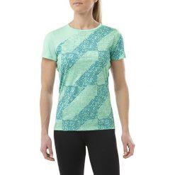 Asics Koszulka damska Lite Show SS Top zielona r. XS (146628 1183). Szare topy sportowe damskie marki Asics, z poliesteru. Za 190,10 zł.