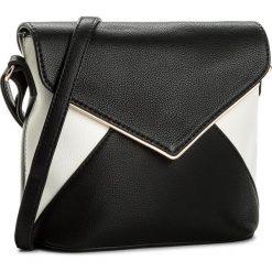 Torebka JENNY FAIRY - RC9703A Czarny. Czarne torebki klasyczne damskie Jenny Fairy, ze skóry ekologicznej. Za 79,99 zł.