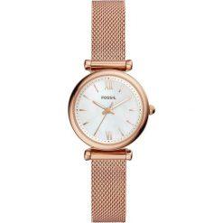 Fossil - Zegarek ES4433. Różowe zegarki damskie marki Fossil, szklane. Za 599,90 zł.