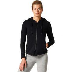 Bluzy sportowe damskie: Adidas Bluza damska Sport ID Full Zip Hoodie czarna r. S (S97074)
