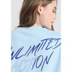 Bluzy rozpinane damskie: Weekday STEVE  Bluza blue