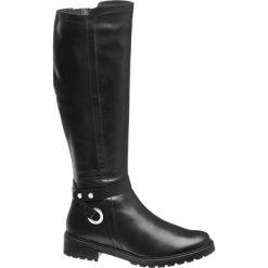 Buty zimowe damskie: kozaki damskie 5th Avenue czarne