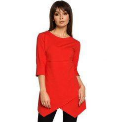 BECCA Tunika z zakładką - czerwona. Czerwone tuniki damskie BE, na co dzień, l, z jeansu, klasyczne. Za 136,99 zł.