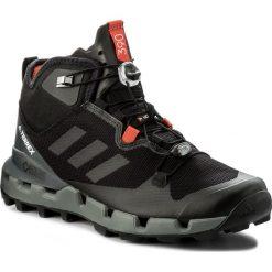 Buty trekkingowe męskie: Buty adidas – Terrex Fast Mid Gtx-Surrou GORE-TEX BB0948  Cblack/Cblack/Visgre
