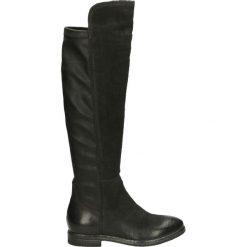 Kozaki ocieplane - 91002300 819N. Czarne buty zimowe damskie marki Kazar, ze skóry, na wysokim obcasie. Za 369,00 zł.