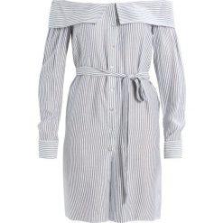 Sukienki hiszpanki: Bardot SIENNA DRESS Sukienka koszulowa blue/white
