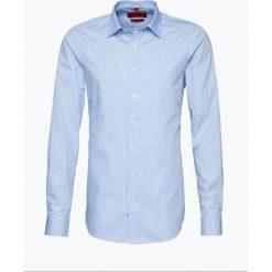 Finshley & Harding - Koszula męska z bardzo długim rękawem, niebieski. Czarne koszule męskie marki Finshley & Harding, w kratkę. Za 129,95 zł.