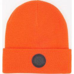 Czapka beanie - Pomarańczo. Czerwone czapki męskie Reserved. Za 39,99 zł.