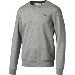 Bawełniana bluza z okrągłym dekoltem. Czarne kardigany męskie Puma, l, z bawełny, sportowe, z okrągłym kołnierzem. Za 230,96 zł.
