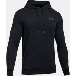 Bejsbolówki męskie: Under Armour Bluza męska Rival Fleece Fitted Hoodie czarna r. S (1302292-001)