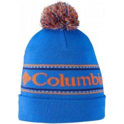 Columbia Czapka Csc Logo Beanie Super Blue Os. Niebieskie czapki zimowe męskie Columbia, na zimę, eleganckie. W wyprzedaży za 65,00 zł.
