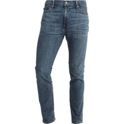 Jeansy męskie regular: Abercrombie & Fitch Jeansy Slim Fit blue denim