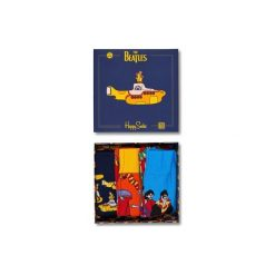 Skarpetki Happy Socks X The Beatles XBEA08-6000. Szare skarpetki męskie Happy Socks, z bawełny. Za 100,00 zł.
