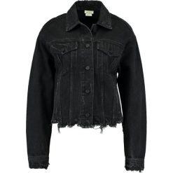 Bomberki damskie: Miss Sixty KOBUS  Kurtka jeansowa black