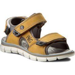 Sandały PRIMIGI - Ptv 7 7652300 S Giallo. Żółte sandały męskie skórzane marki Primigi. W wyprzedaży za 129,00 zł.