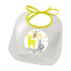 Śliniaki: Beaba Śliniak z kieszonką Bunny