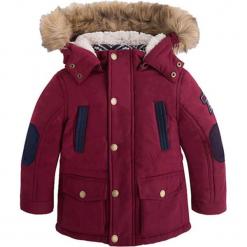 Kurtka w kolorze czerwonym. Czerwone kurtki chłopięce zimowe marki Mayoral. W wyprzedaży za 172,95 zł.