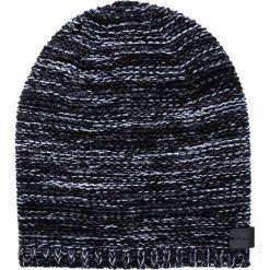 Czapka CZC0000018. Brązowe czapki zimowe męskie Giacomo Conti, na zimę, z aplikacjami, z wełny. Za 109,00 zł.