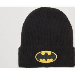 Czapka z aplikacją Batman - Czarny. Czarne czapki męskie House, z aplikacjami. Za 39,99 zł.
