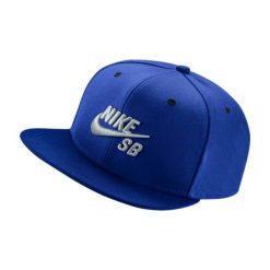 Akcesoria męskie: Nike Czapka z daszkiem męska SB Icon Pro niebieska (628683-482)